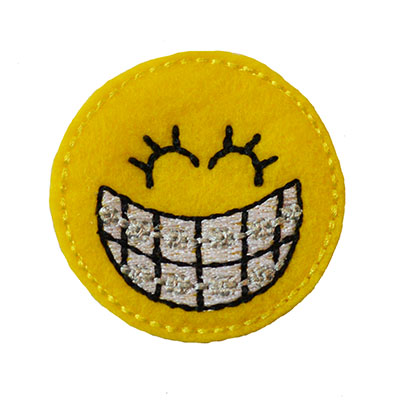 Olivia the Orthodontist Embroidery File