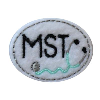 MST Oval Stethoscope Embroidery File