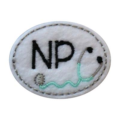 NP Oval Stethoscope Embroidery File