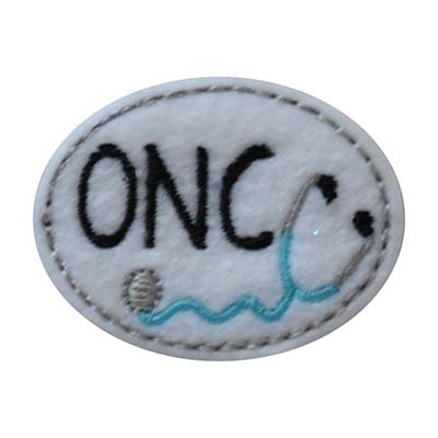 ONC Oval Stethoscope Embroidery File