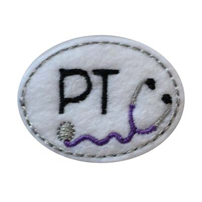 PT Oval Stethoscope Embroidery File