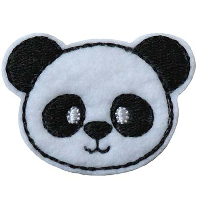 Panda Face Embroidery File