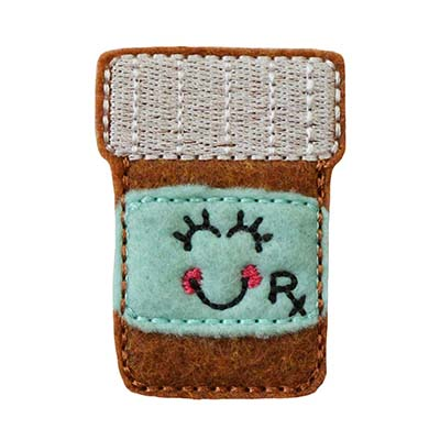 Patty the Prescription Embroidery File