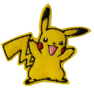PokePika Embroidery File