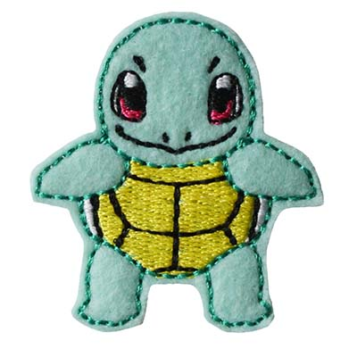 PokeTurtle Embroidery File