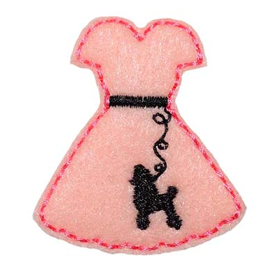 Poodle Skirt Embroidery File