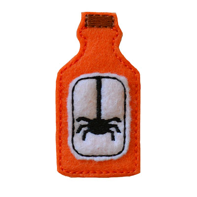 Potion Bottle Spider Embroidery File