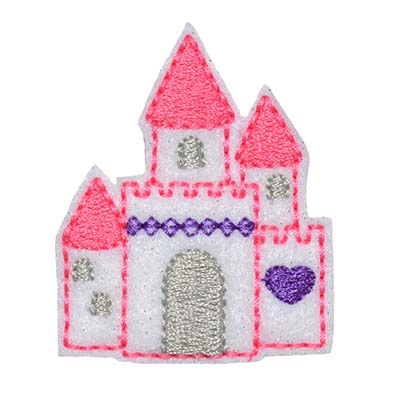 Princess Castle Embroidery File