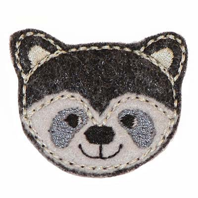 Ricky the Raccoon Embroidery File