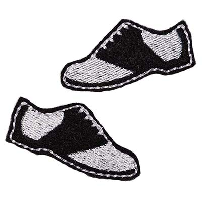Saddle Shoes Embroidery File