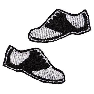 Saddle Shoes Embroidery File