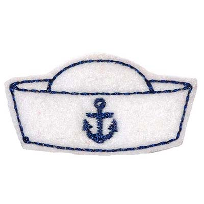 Sailor Hat Embroidery File