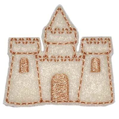 Sandcastle Embroidery File