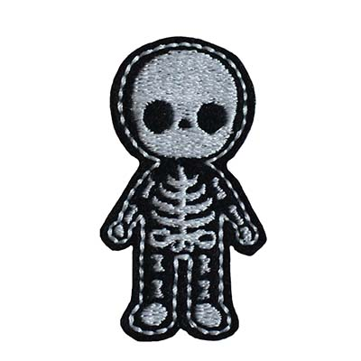 Skeleton Body Embroidery File