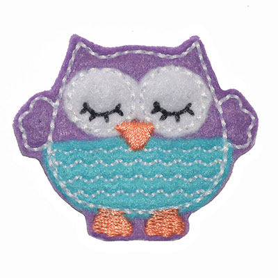 Sleepy Lil Owl Embroidery File