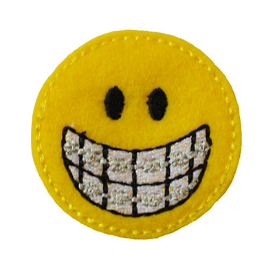 Smiley Orthodontist Embroidery File