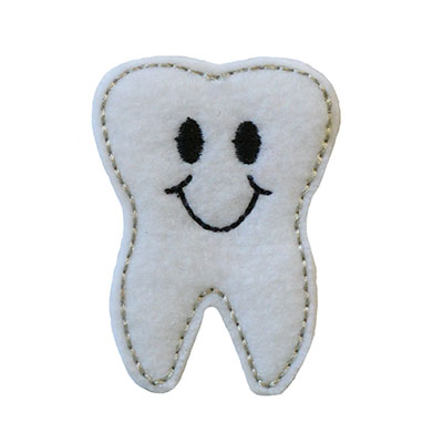 Smiley Tooth Embroidery File