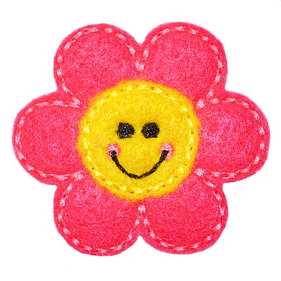 Smiling Flower Embroidery File