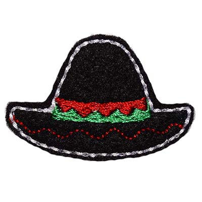 Sombrero Embroidery File
