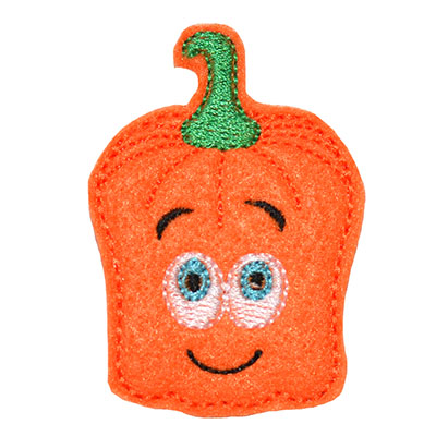 Square Pumpkin Embroidery File
