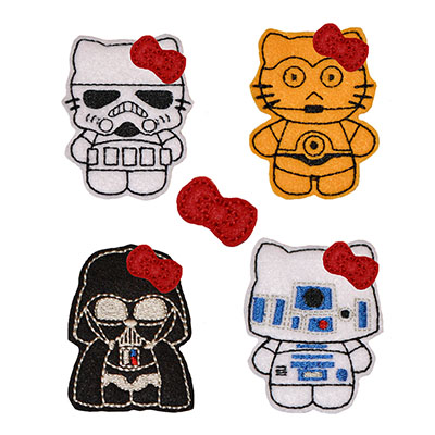 Star Kitty COMBO SET 1 Embroidery File