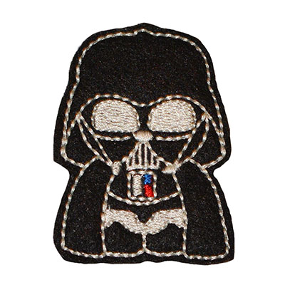 Star Kitty Darth Embroidery File