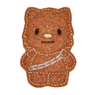 Star Kitty Chewy Embroidery File