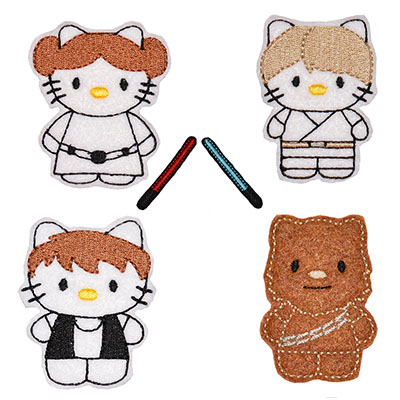 Star Kitty COMBO SET 2 Embroidery File