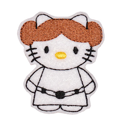 Star Kitty Leah Embroidery File