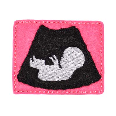 Ultrasound Embroidery File