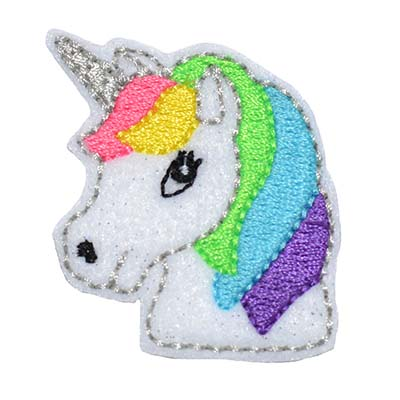 Unicorn Head Embroidery File