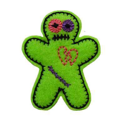 Voo Doo Doll Embroidery File