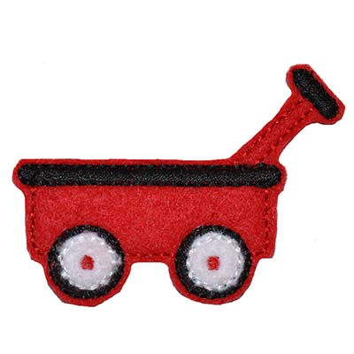 Wagon Embroidery File
