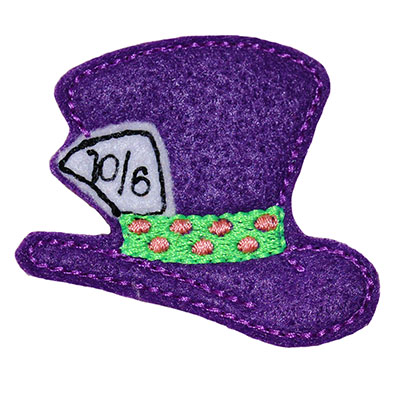 Wonderland Hat Embroidery File